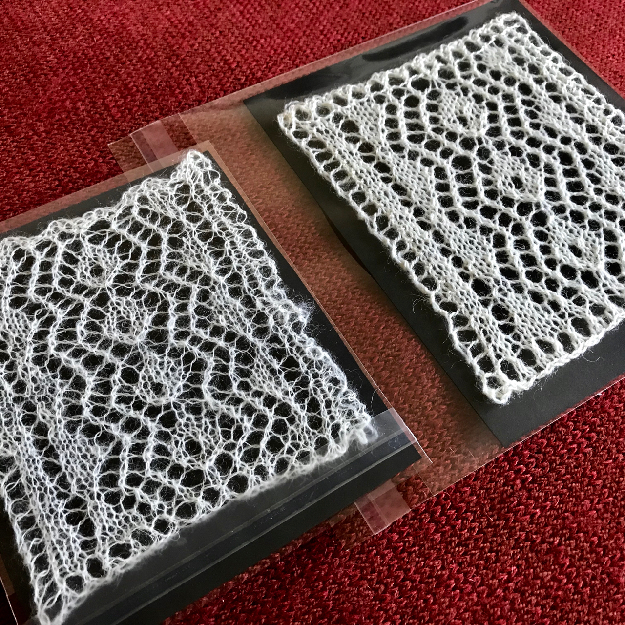 Historic Knitted Lace Project